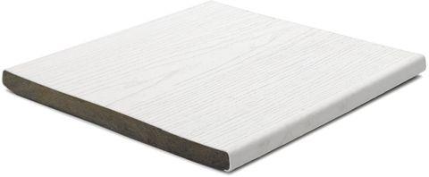 Woodgrain White Fascia