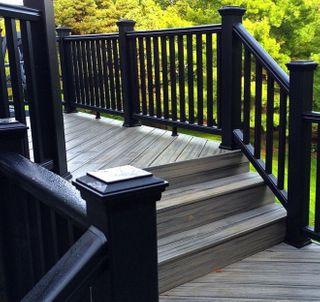 Trex Transcend Stair Kit BK- 232 x 106cm