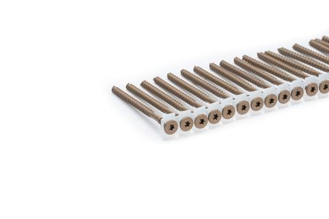 Camo Collated Screws 10g x 76mm 1000pc