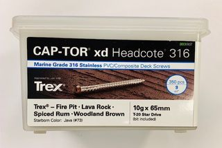 Captor xd 316gr 10g x 65 Dark Brown 350