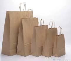 Paper Loop Handle Carry Bags