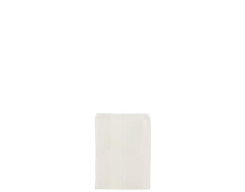 1/4 Long White Paper Bags 120mm(L) x 100mm(W) - Box of 1,000