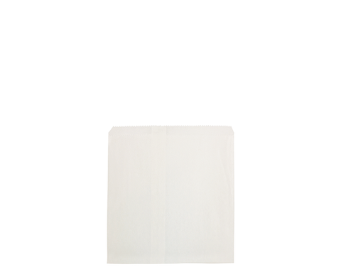 1 Square White Paper Bags 180mm(L) x 180mm(W) - Pack of 500
