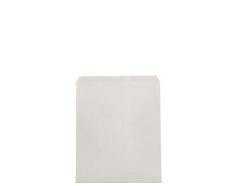 3 Long White Paper Bags 285mm(L) x 203mm(W) - Pack of 500