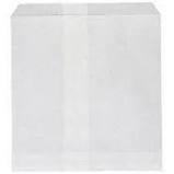1 Square White Paper Greaseproof Lined Bags 200mm(L) x 175mm(W) - Pack of 500