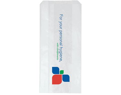 Stockprint Sanitary Bags 115mm(L) x 250mm(W) x 50mm(G) -Pack of 1,000