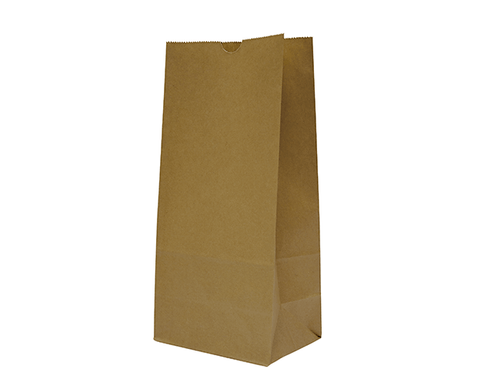 Checkout Bags Number #12 SOS Brown Paper Bags 350mm(L) x 180mm(W) x 115mm(G) - Box of 500