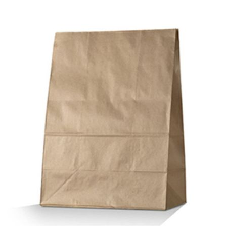 Checkout Bags Number #25 SOS Brown Paper Bags 540mm(L) x 355mm(W) + 165mm(G) - Box of 100