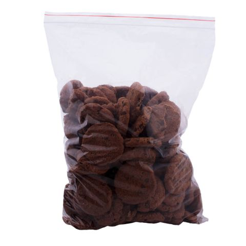 """Resealable Plastic Bags 15 x 11"""" / 380mm x 280mm - PACK=100 / BOX=1,000"""