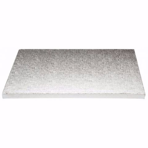 No. 10 Heavy Masonite Foil Cake Boards 250mm Square/Round - Packet of 10