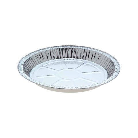 Extra Large Family Pie Foil Trays 845ml 242mm Diameter 24mm(H) (4124) - Box of 750