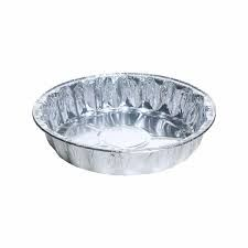 Large Fluted Round Foil Trays 1130ml 216mm Diameter 41mm(H) (4722) - Box of 600