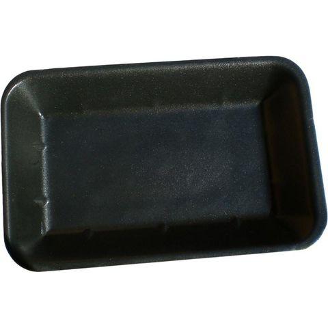 Black Foam Deep Butchers Tray 190mm(L) x 140mm(W) x 30mm(H) (T755A) - PACK=125 / BOX=500