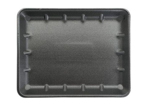 Black Foam Shallow Butchers Tray 125mm(L) x 125mm(W) x 12mm(H) (T55ABL) - Box of 500