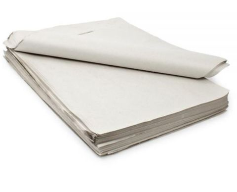 """White Thick Gloss Paper Folded Full Size 24"""" x 32"""" / 610mm(W) x 810mm(L) - Standard Ream"""