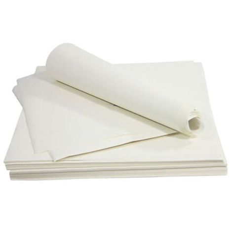 Premium Bleached Lunchwrap Greaseproof Paper 6 Cut (Long) 82.5mm(W) x 440mm(L) - Packet of 3,200