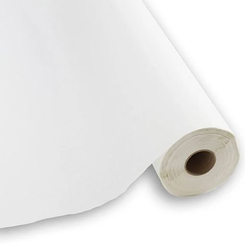 Caprice Plain White Paper Table Rolls 55 meters - Each