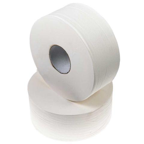Jumbo 2 Ply Toilet Paper 300m Rolls - Box of 8
