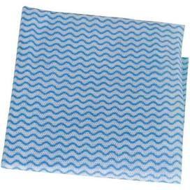 Blue Heavy Duty Cleaning Cut Wipe Sheets 600mm x 600mm - Box 100