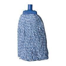 Blue Commercial Cotton Mop Head 400gm - Each