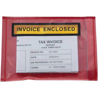 Invoice Enclosed Packaging Labels - Box of 1,000