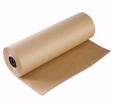"Brown Kraft Paper Counter Rolls 24"" / 610mm 50gsm - Roll"