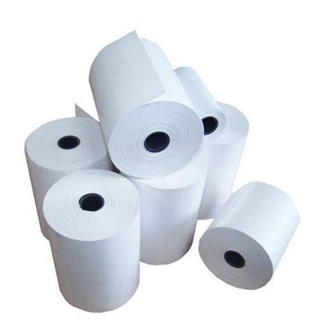 Cash Register Roll White Bond Plain Paper 44mm x 76mm - Box of 48
