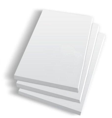 "White Pads  3' x 5"" / 75mm x 125mm - Box of 100"