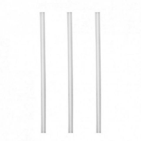 Jumbo Clear Drink Straw Oxo-Biodegradable - Box of 3,000