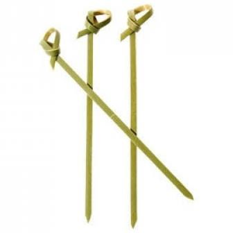 Bamboo 10cm Curly Pick - PACK=50 / BOX=500
