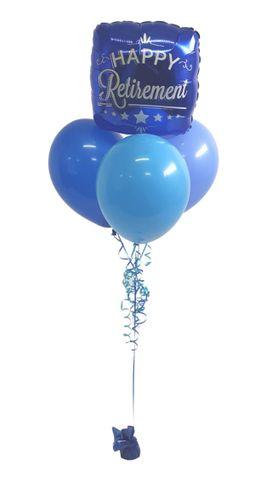 "Balloon Display: 1 x 18"" Foil + 3 x Plain 11"" Balloons"