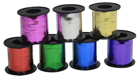 Metallic Ribbon 275m - Each
