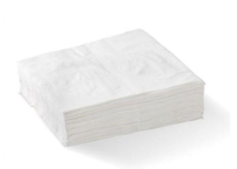 1 Ply White Luncheon Serviette - EACH=500 / BOX=3,000