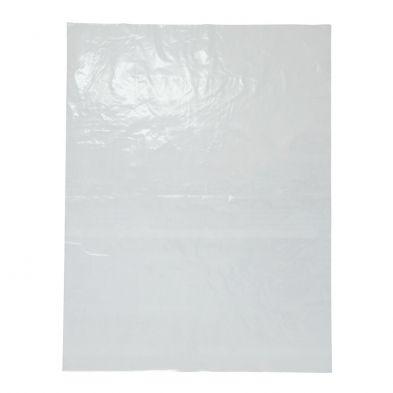 "Heavy Duty Clear Plastic LDPE Bag 50 Micron 12"" x 10"" / 305mm x 255mm - PACK=100 / BOX=1,000"