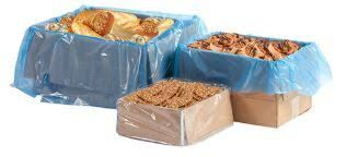 Heavy Duty Plastic Pastry Box Liners - 910mm x 920mm - Box of 500