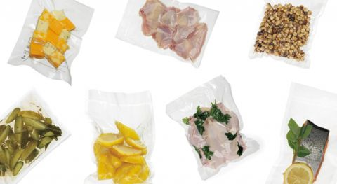 """Clear Smooth Vacuum Seal Bags 9"""" x 6"""" / 225mm x 165mm - PACK=100 / BOX=1,000"""