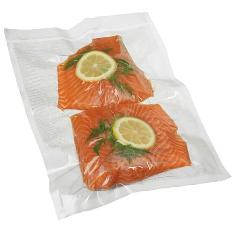 """Clear Smooth Vacuum Seal Bags 10"""" x 8"""" / 250mm x 200mm - PACK=100 / BOX=1,000"""