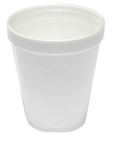 White Foam Cups 8oz / 237ml - Box of 1,000