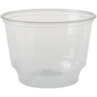 Castaway Plastic Clear Sundae Cup 12oz / 360ml - Box of 1,000