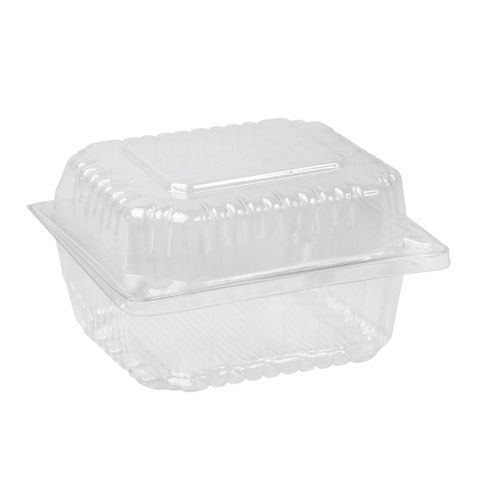 Clear Plastic Round Roll Pack 120mm(L) x 110mm(W) x 70mm(H) - SLEEVE=100 / BOX=300