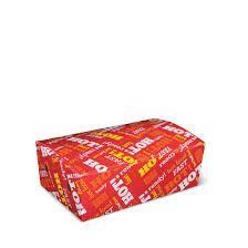 Detpak Extra Small Cardboard Snack Box 130mm(L) x 103mm(W) x 57mm(H) - Box of 500