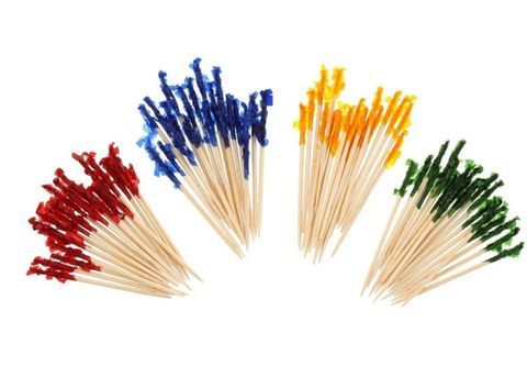 Frilled 10cm Toothpick - Packet 1,000
