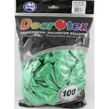 11'' Metallic Balloons Decrotex - Bag of 100 Balloons