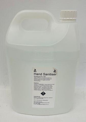 DEJ Anti-Bacterial 75% Alcohol Based Hand GEL Sanitiser - 5LT