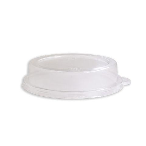 Future Friendly 12oz Top Hat Round Dome PET Lid (L026) - Box of 1,000
