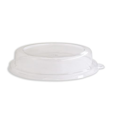 Future Friendly 18oz Top Hat Round Dome PET Lid (L001) - Box of 600