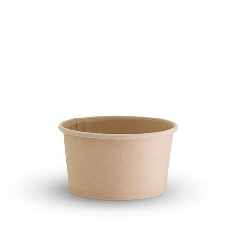 Future Friendly 6oz Bamboo Food Container - PLA Lining - Box of 1,000