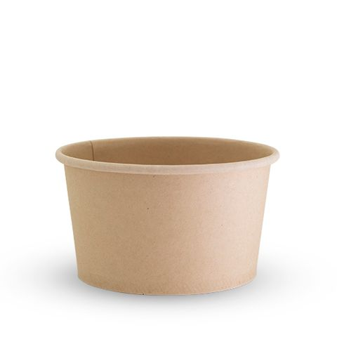 Future Friendly 12oz Bamboo Food Container - PLA Lining - SLEEVE=50 / BOX=500