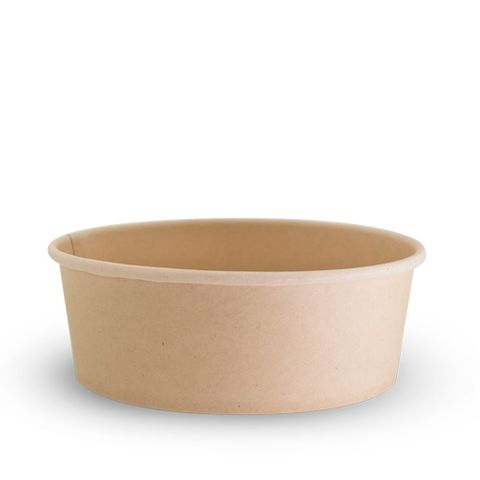 Future Friendly 20oz Bamboo Bowl - PLA Lining - SLEEVE=50 / BOX=200