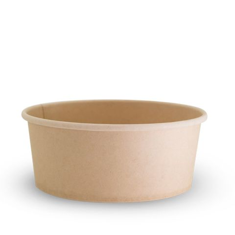 Future Friendly 24oz Bamboo Bowl - PLA Lining - SLEEVE=50 / BOX=200